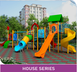 AVP PARK CHILD SERIES PLAY SYSTEM HOUSE SERIES