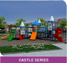 AVP PARK CHILD SERIES PLAY SYSTEM CASTLE SERIES