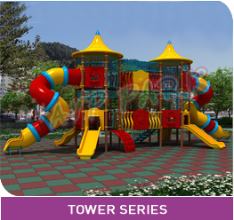 AVP PARK CHILD SERIES PLAY SYSTEM TOWER SERIES