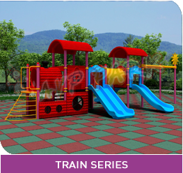 AVP PARK CHILD SERIES PLAY SYSTEM TRAIN SERIES